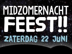 Midzomernacht Feest! - agenda Timboektoe