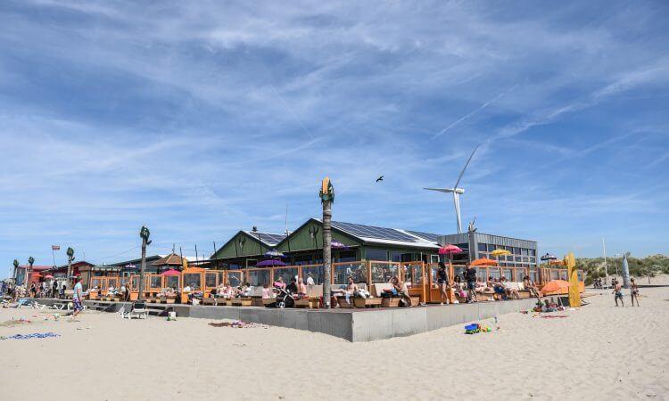 Strandtent Wijk aan Zee